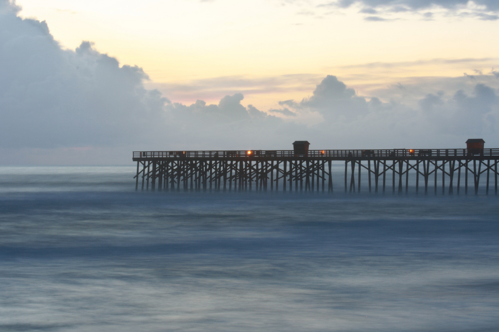 Flagler Beach is one of Florida's hidden beaches... photo by CC user mjuzenas on Flickr