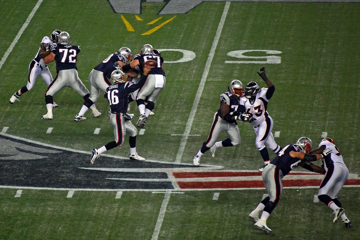 Going into Super Bowl 2016, we like the New England Patriots to defend their 2015 title ... photo by CC user Paul Keleher on Flickr