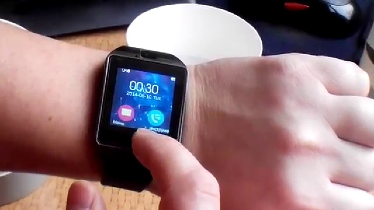 how to turn on a smartwatch