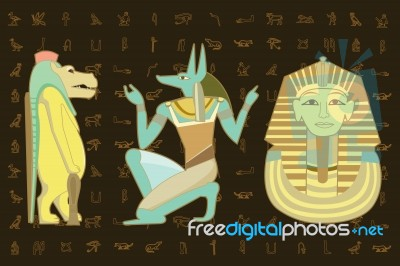 egyptian-character-design-100126677
